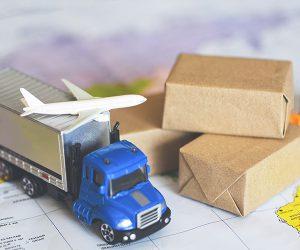 International shipping depiction.